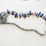 Stone and Sparkle Necklace Tutorial