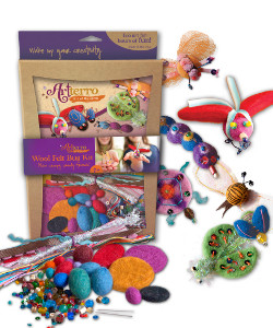 Arterro Wool Felt Bug Kit