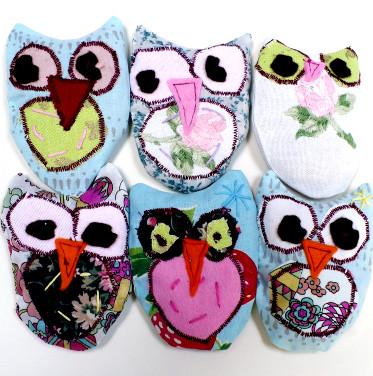 Hooty Owl Lavender Bag