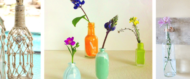 Link Love: Recycled Bottle Crafts
