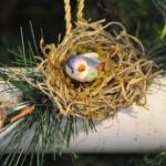 Toilet Roll Yule Log Ornament