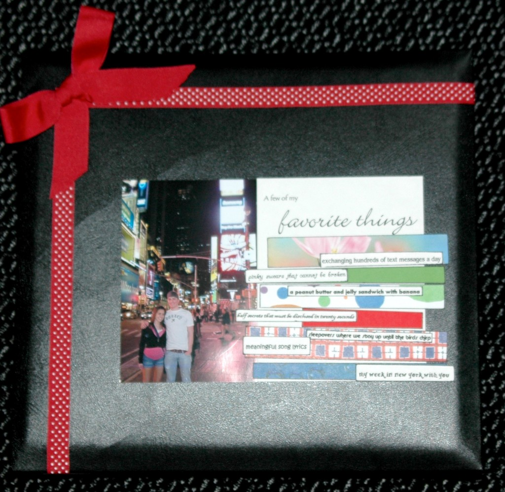 The Big Apple Michaels Scrapbook Blogger Challenge Favecrafts