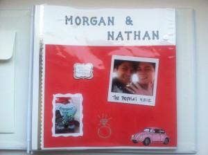 19 300x224 DIY Wedding Scrapbook: Michaels Scrapbook Blogger Challenge