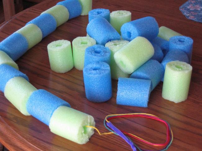 Make A Splash Pool Noodle Summer Crafts For Kids Favecrafts
