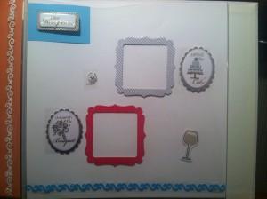 8 300x224 DIY Wedding Scrapbook: Michaels Scrapbook Blogger Challenge