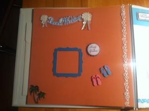 Scrapbook 3 300x224 DIY Wedding Scrapbook: Michaels Scrapbook Blogger Challenge