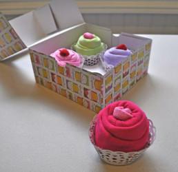 Cupcake Onesie Gift Idea