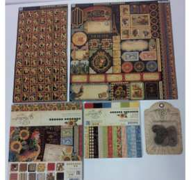 graphic45 FaveCrafts Giveaway:  Graphic 45 French Country Collection