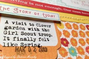 layout4 Start Summer with This Lovely Scrapbook Layout
