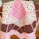 Borders Baby Rag Quilt 150x150 Sugar, Spice, and Everything Nice: 8 Quilt Patterns for Girls