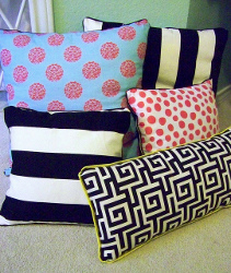 No Sew Pillow Project