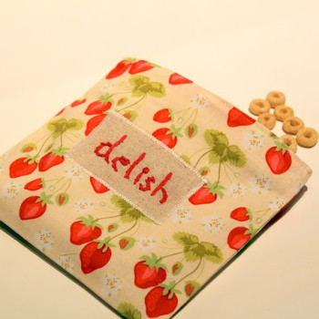 Embroidered Reusable Snack Bag