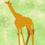 Giraffe-Quilt-Block