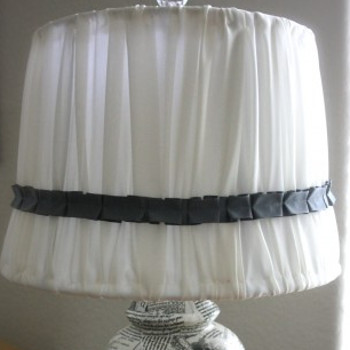 Lamp Shade Refashion