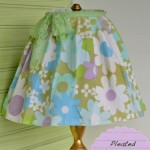 Pleated Lampshade Skirt Makeover