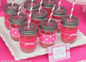 Pretty Pink Mason Jar Cups Unexpected Decor Ideas for Eco Friendly Crafters