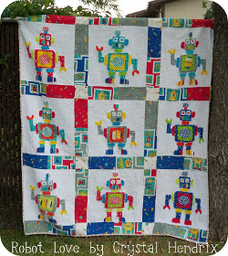 Robot Love Quilt Sports, Space, and Spooky Designs : 8 Super Quilting Patterns for Boys