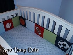 Sporty Crib Bumper