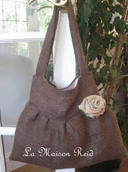 Burlap Purse Pattern