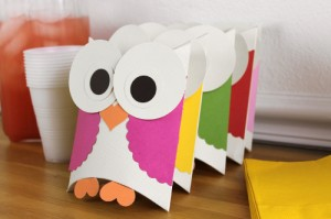 owl party boxes