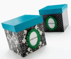 paper mache boxes Design Your Own Craft Room   Its Easier Than You Think