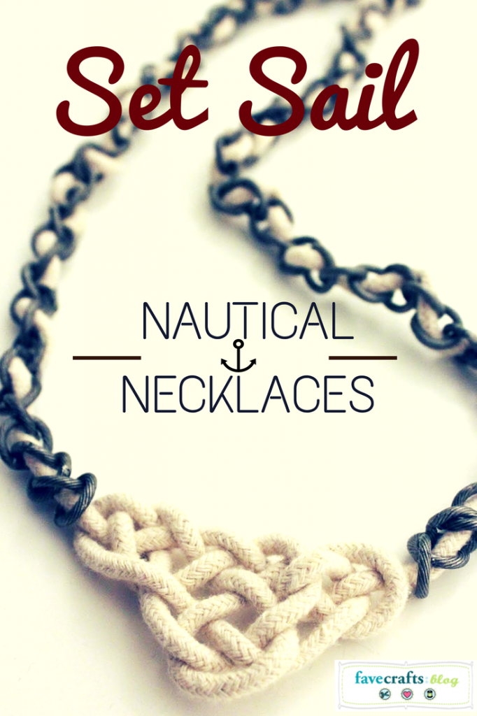 Celtic Knot Rope and Chain Necklace