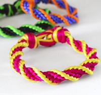 12-Strand Spiral Bracelet