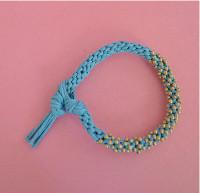 Beaded Kumihimo Bracelet