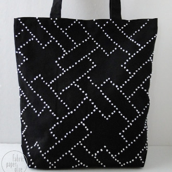 Dotty Embroidered Tote Bag