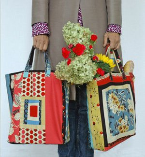 Easy to Sew Market Tote Bag