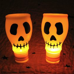 Plastic-Bottle-Skull-Lights