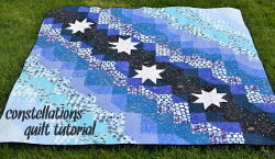 Constellations Bed Quilt