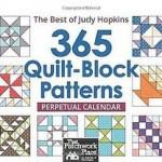 365 Quilt-Block Patterns Perpetual Calendar: Best of Judy Hopkins