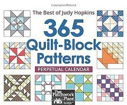 365 Quilt-Block Patterns Perpetual Calendar: Best of Judy Hopkins