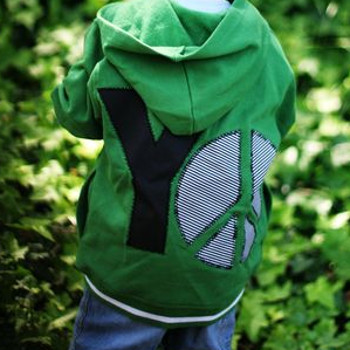 Yo Peace Hoodie National Sewing Month: How to Sew Hoodies & DIY Sweatshirts for Every Young Man
