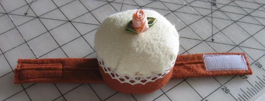 Cupcake Wrist Cushion