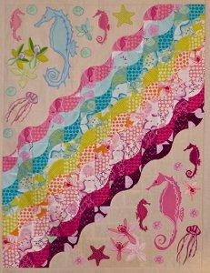 Undersea Rainbow Summer Breeze Quilt
