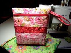 Vera Bradley Quilted Zipper Bag