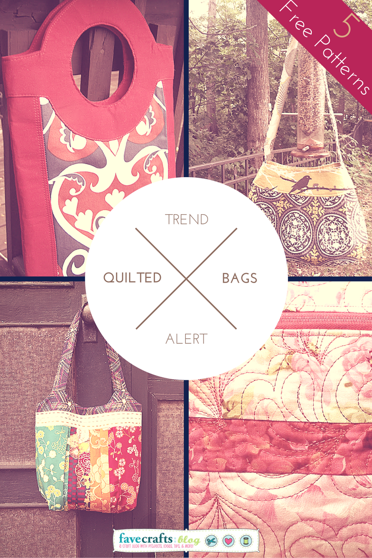 Trend Alert: The Best New Free Quilted Bag Patterns of the Season