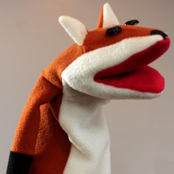 Fleece Fox Puppet
