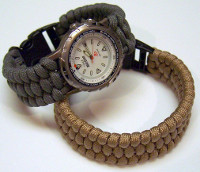 Woven Paracord Watch