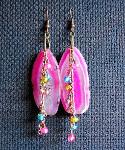 Summer Agate Dangle Earrings