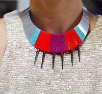 Wrapped Tribal Choker