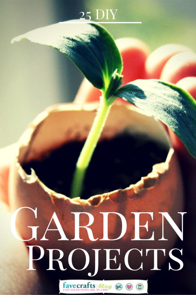 25 DIY Garden Projects
