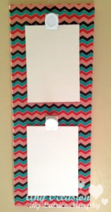 fabric board5 158x300 Brighten Up Your Space With This DIY Fabric Photo Holder
