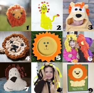 link love lion crafts 300x298 Link Love: Lion Crafts for August