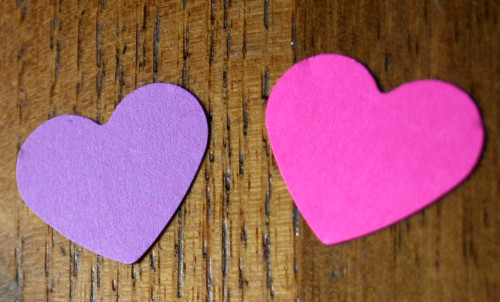 miniature bunting2 Lovable, Easy Crafts: Miniature Heart Bunting