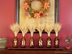 Give Thanks Mantlepiece