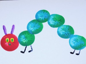 Very Hungry Caterpillar Balloon Craft