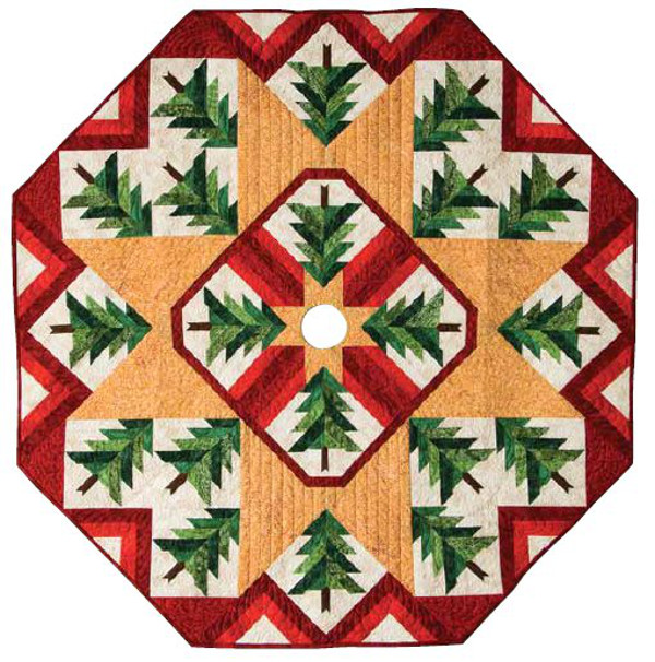 quilted christmas tree skirt - Quilted Christmas Tree Skirt Pattern